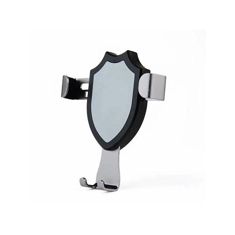 Szellőzőrácsba rögzíthető gravitációs autós telefontartó / univerzális