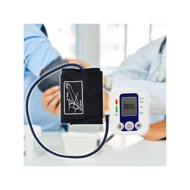 Digitális vérnyomásmérő / felkaros kivitel, nagy pontossággal