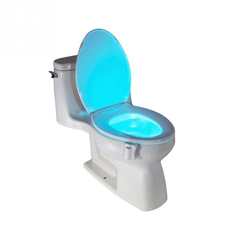 Ledes mozgásérzékelő WC- és fürdőszobai világítás