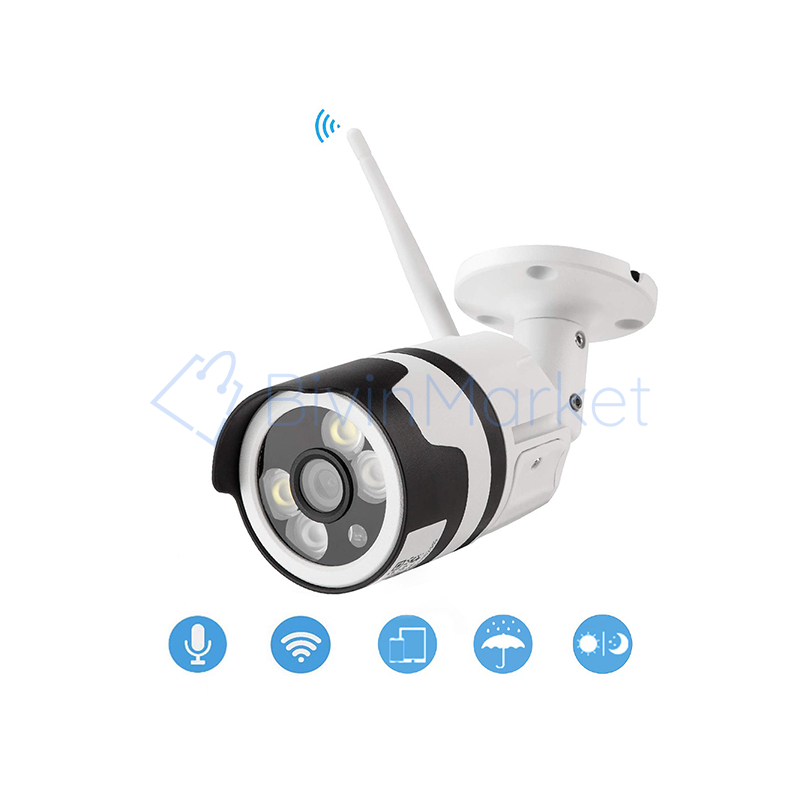 F-6003-4 Mozgásérzékelős HD LED WiFi biztonsági kamera, Cloud funkcióval