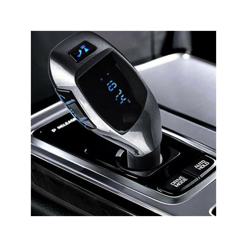 X7 Bluetooth FM transzmitter / autós kihangosító és zenelejátszó távirányítóval